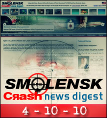 Smolensk Crash News Digest.